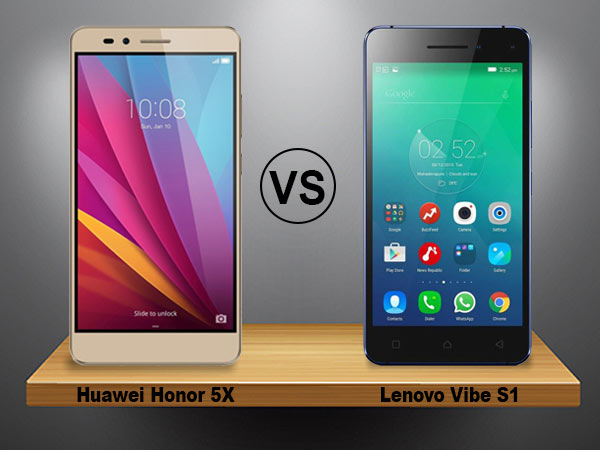 Huawei Honor 5x vs Lenovo Vibe S1: Which one offers more your budget!