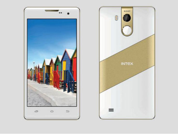 Intex Just Launched the Cheapest Fingerprint Scanner Phone at Rs 5,599