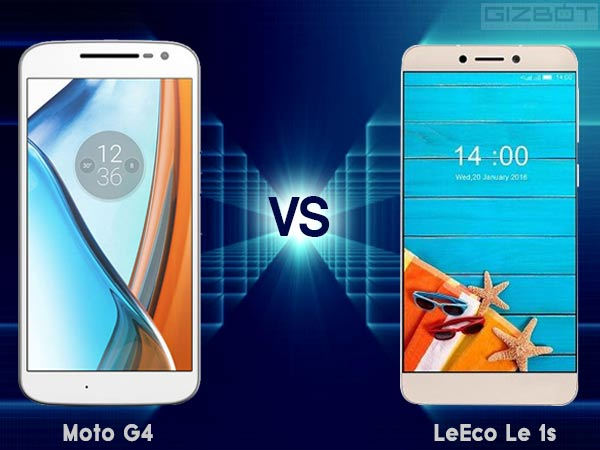 LeEco Le 1s Eco vs Moto G4: Which one gives more value for money!