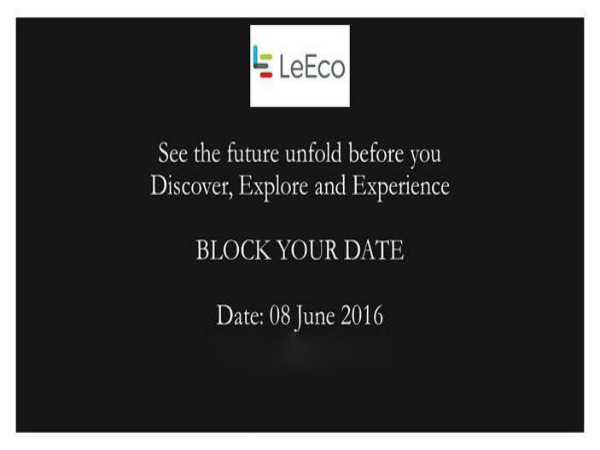 LeEco to launch 3 Superphones in India on June 8