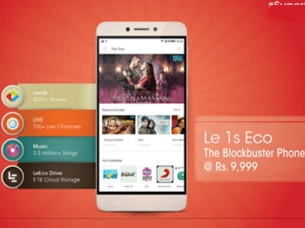 Le 1s Eco priced for Rs 9,999 to go on second flash sale on May 19