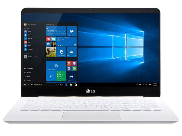 LG brings ultralight 14-inch laptop to India