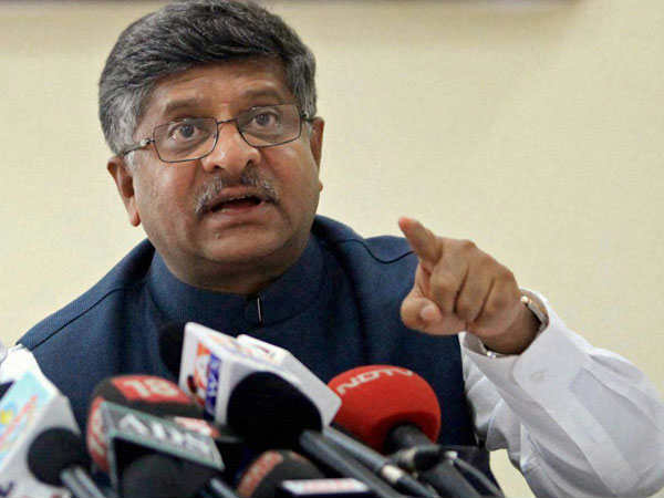 Government will keep a check on service providers: Prasad