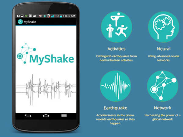 New smartphone app can detect earthquakes