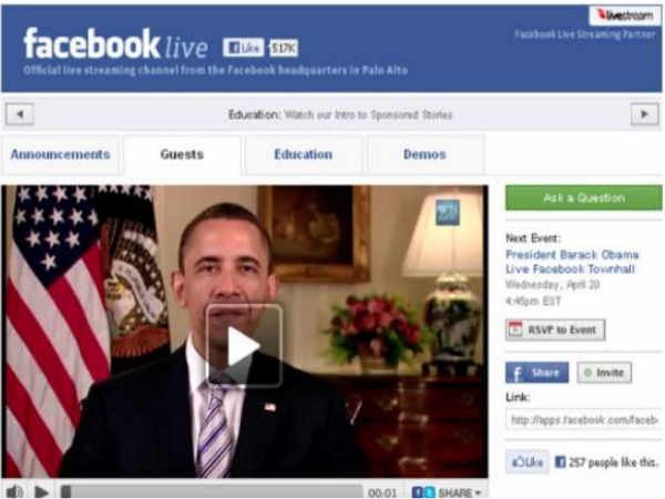 BuzzFeed's interview with Obama on Facebook Live goes blank