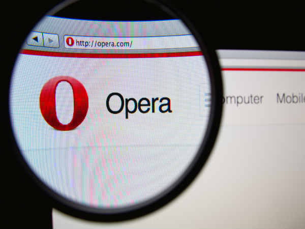 Save 50 Percent of Laptop's Battery Power With New Opera Update