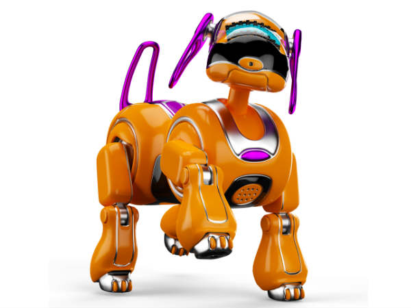 Virtual dog to teach robots to perform tasks intelligently
