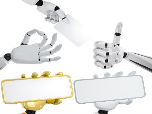 Five-fingered robotic hand learns on its own