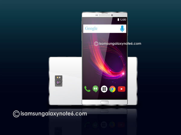 Samsung Galaxy Note 6 Will Look Like This! 7 Innovative Features