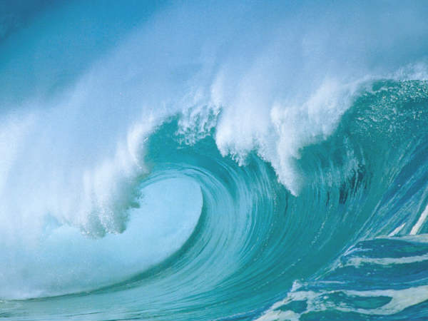 3D model shows how sea waves move materials over long distances