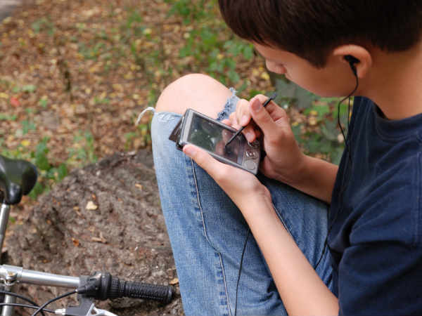 Now, track your kids with Auxus waterproof GPS device