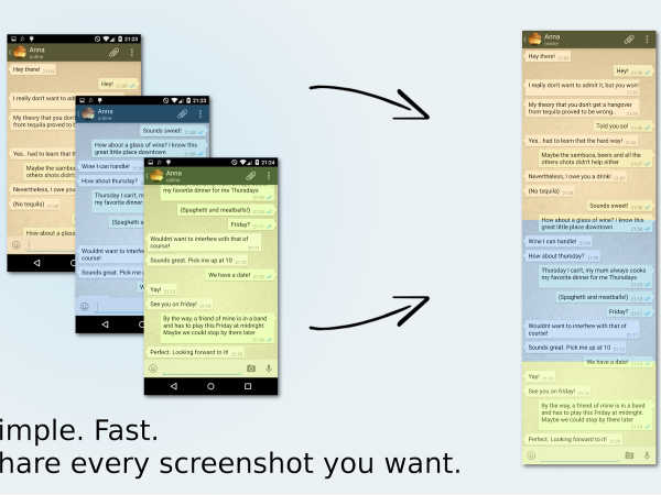 5 steps to save all your conversations screenshots with ease
