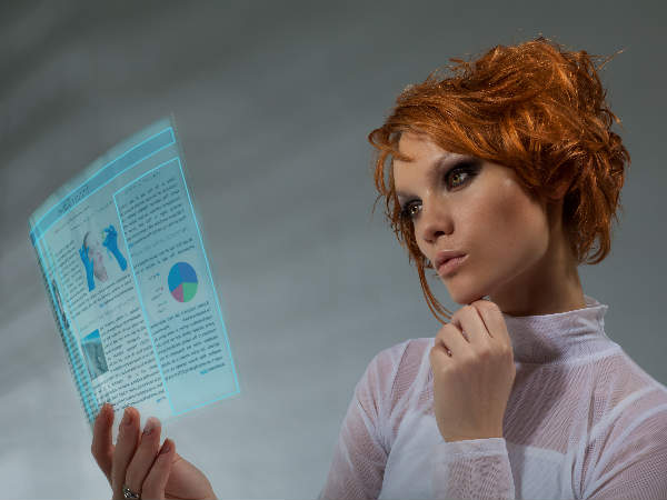 'Smart' sensing paper that responds to gestures commands