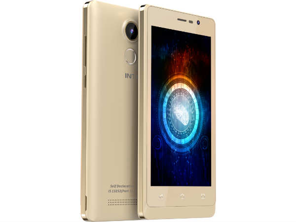 Intex Aqua Secure with Fingerprint Sensor Priced at Rs 6,499