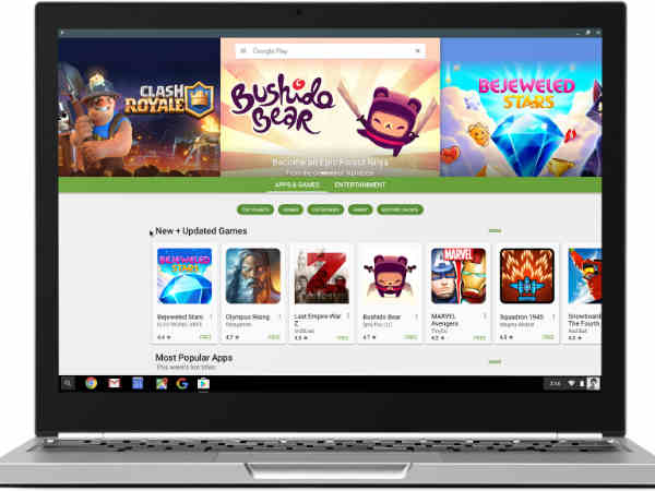 Google makes Chromebooks exciting again by adding Google Play and Android apps