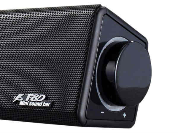 F&D launches sound-bar at Rs.12,999 for your home