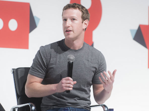 'Trending Topics' row: Zuckerberg to meet conservative leaders
