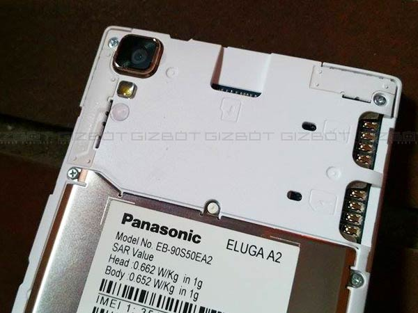 Panasonic Eluga A2 Priced at Rs 9,490 is Official