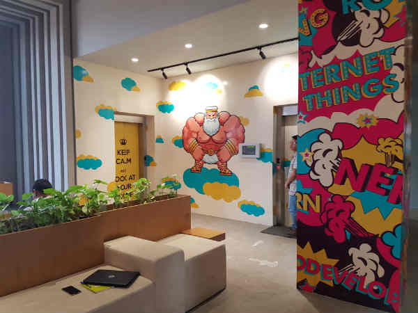 Here is a sneak peek at Micromax's YU office [PICTURES]