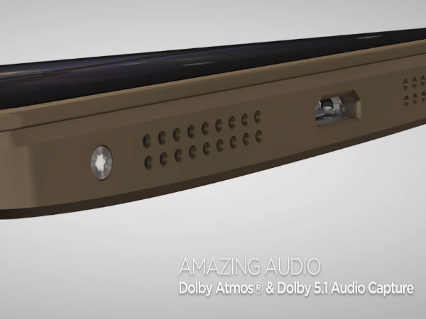 DOLBY Atmos sound for enhanced audio experience