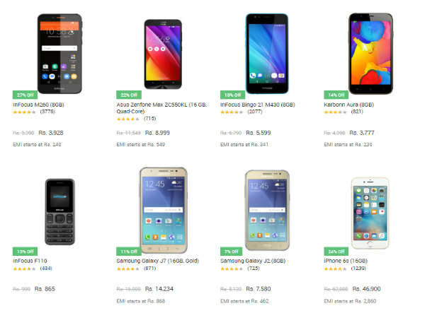 Get Upto 35% Discount On Latest phones
