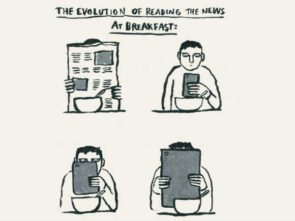 Newspapers are not the trend anymore