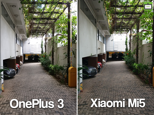 OnePlus 3 vs Xiaomi Mi5 Camera Sample