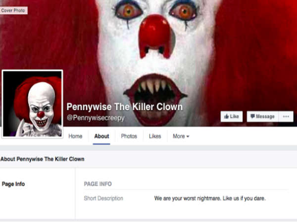 Meet Pennywise The Clown