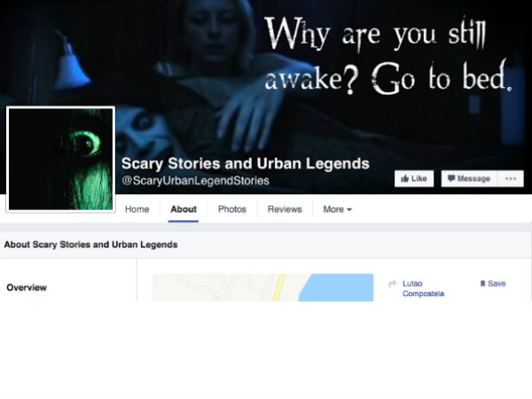 Browse some Scary Stories and Urban Legends