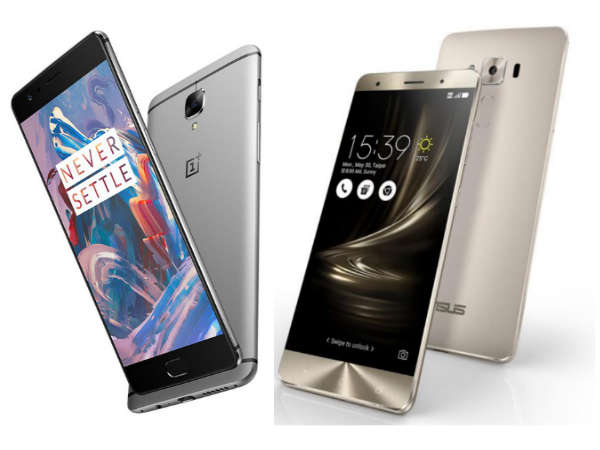 OnePlus 3 vs Asus ZenFone 3 Deluxe: Which 6 GB RAM Is Your Choice?