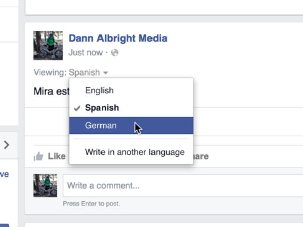 4 simple steps to make Facebook posts in your mother tongue
