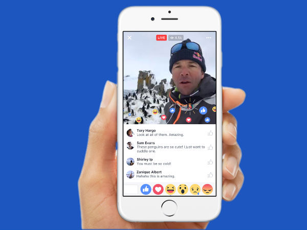 Facebook Live to soon have Snapchat-like filters
