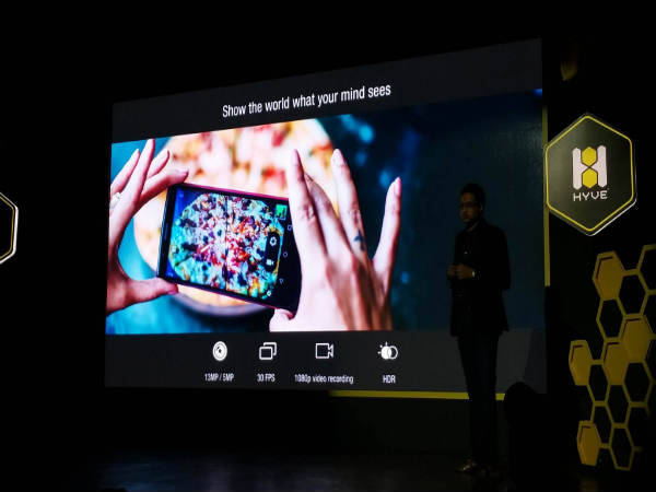Hyve Storm and Buzz Smartphones Launched Starting from Rs 8,499