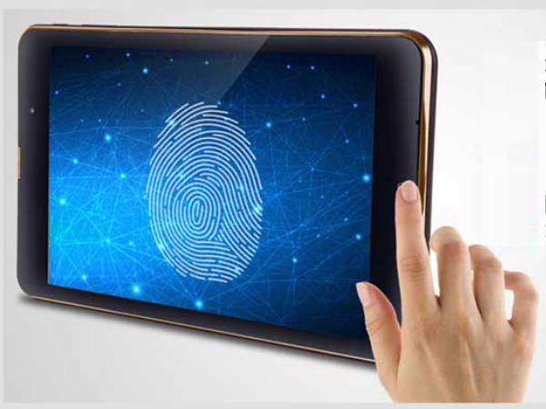 iBall launches 8-inch tablet with fingerprint sensor