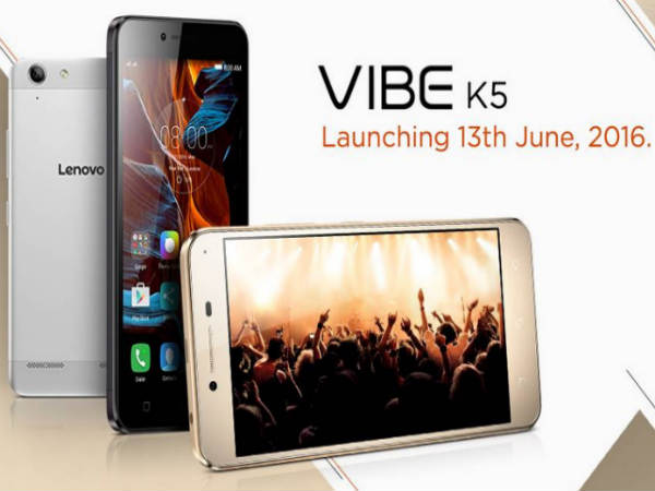 5 Features of Lenovo Vibe K5 to Launch in India on June 13