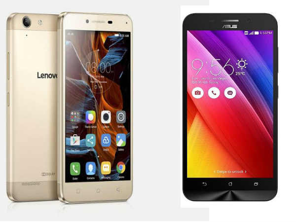 Lenovo Vibe K5 vs Asus ZenFone Max: How Can These Be Compared