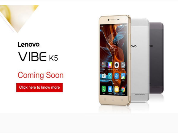 Lenovo Vibe K5 Goes Official at Rs 6,999: 10 Features You Should Know
