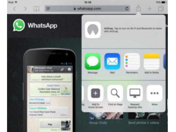 Want to use WhatsApp on your iPad/iPod? Follow these 4 simple steps