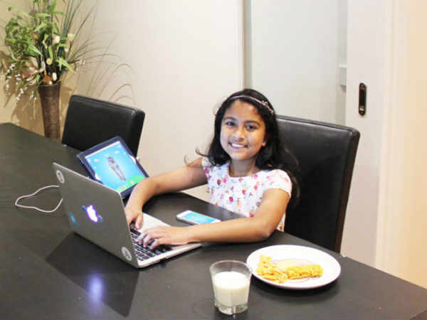 Indian-origin girl is Apple developer conference's youngest attendee