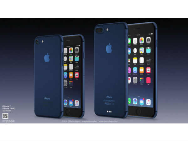 LEAKED: iPhone 7 with iOS 10 and iPhone 7 Pro Deep Blue Concepts