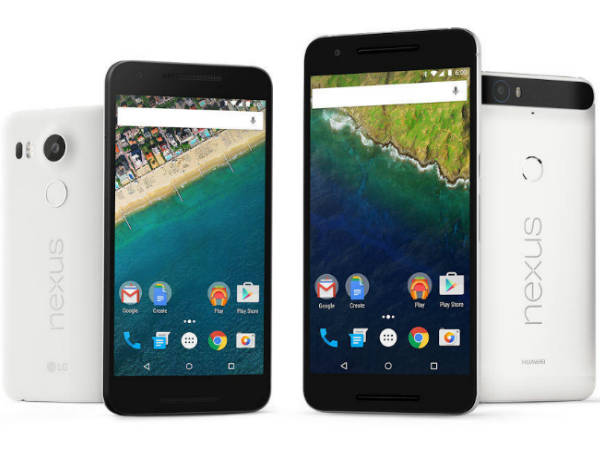 List of Nexus Smartphones