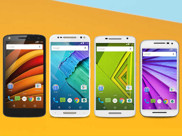 List of Moto Smartphones
