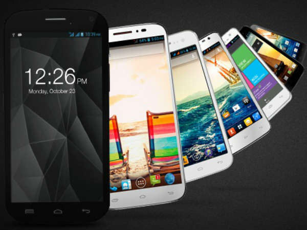 List of Micromax Smartphones