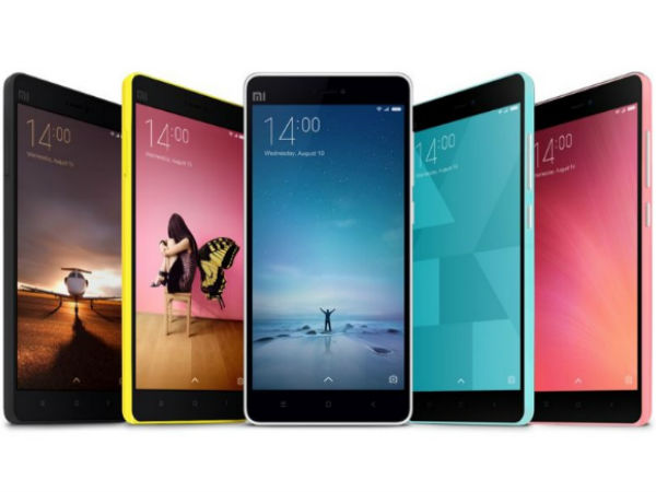 List of Xiaomi Smartphones