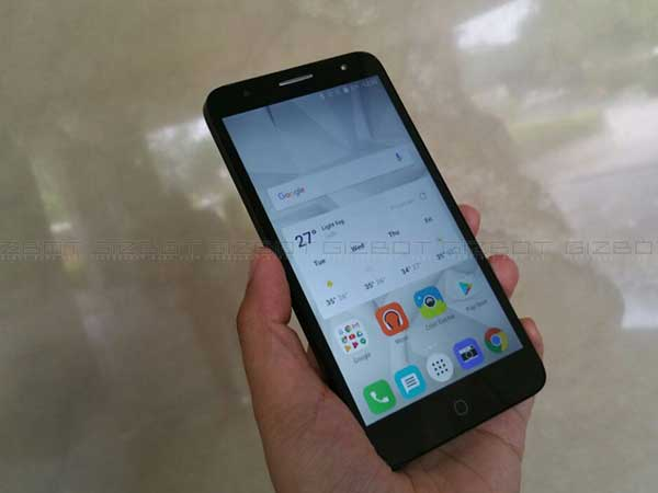 TCL 560 Smartphone With Iris Scanner Goes Official in India