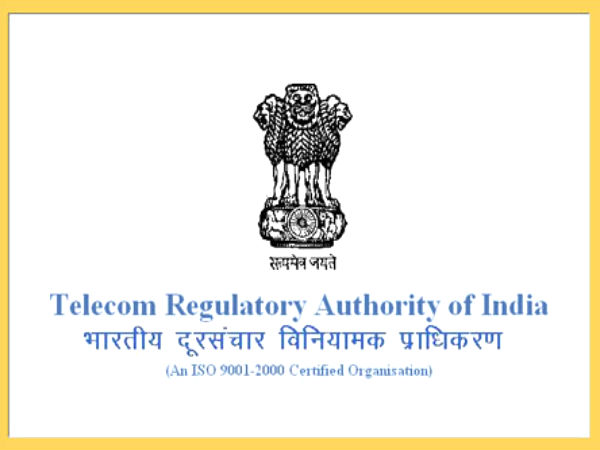 Trai's view on spectrum usage charges this week