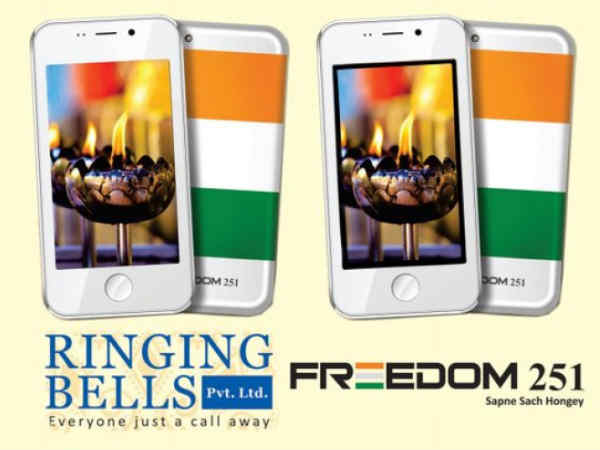 First 2,240 units of 'Freedom 251' out for delivery: Ringing Bells