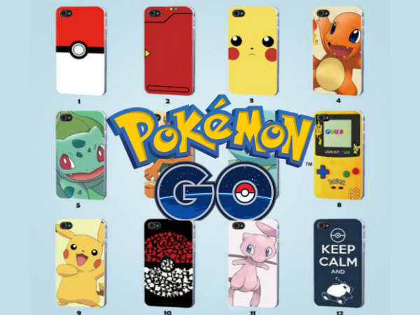 10 Amazing 'Pokémon Go' Themed Mobile Cases & Covers Below Rs. 999