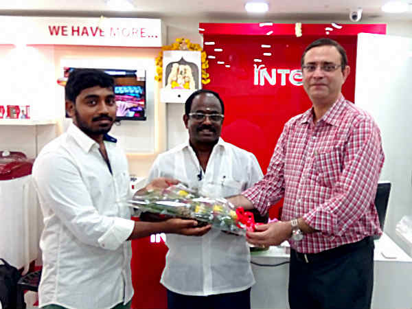 Intex Technologies Opens 9th Smart World Store in Chennai