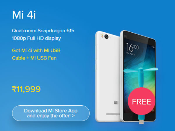 Deals and Discounts on Mi 4i
